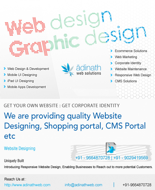 Web Designing & Development Company for Creating Rich Internet User interface and Application Framework